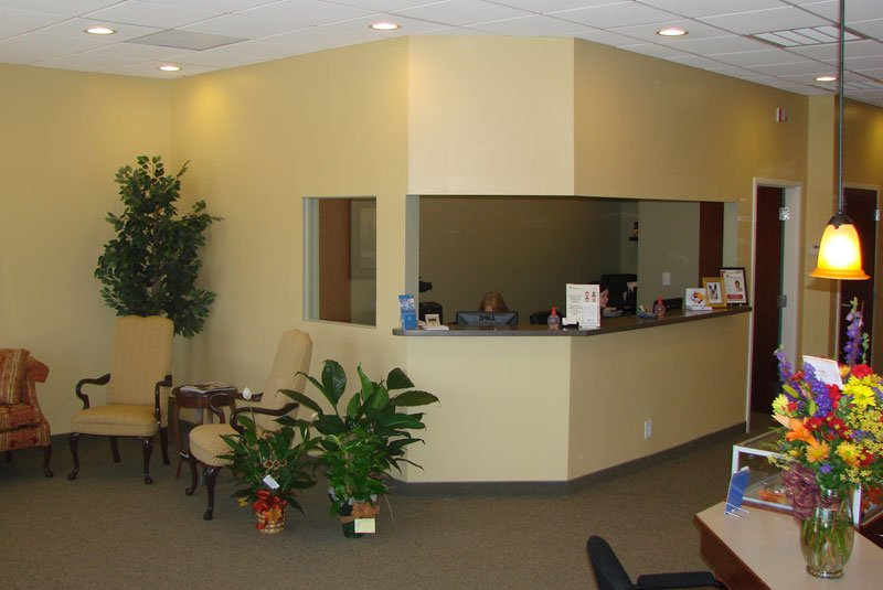 Harper Eye Care Office Renovation