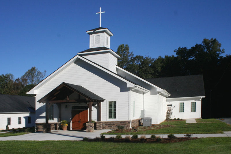 Sandy Creek Baptist Church built by JH Batten