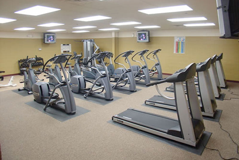 Word of Life Exercise Room